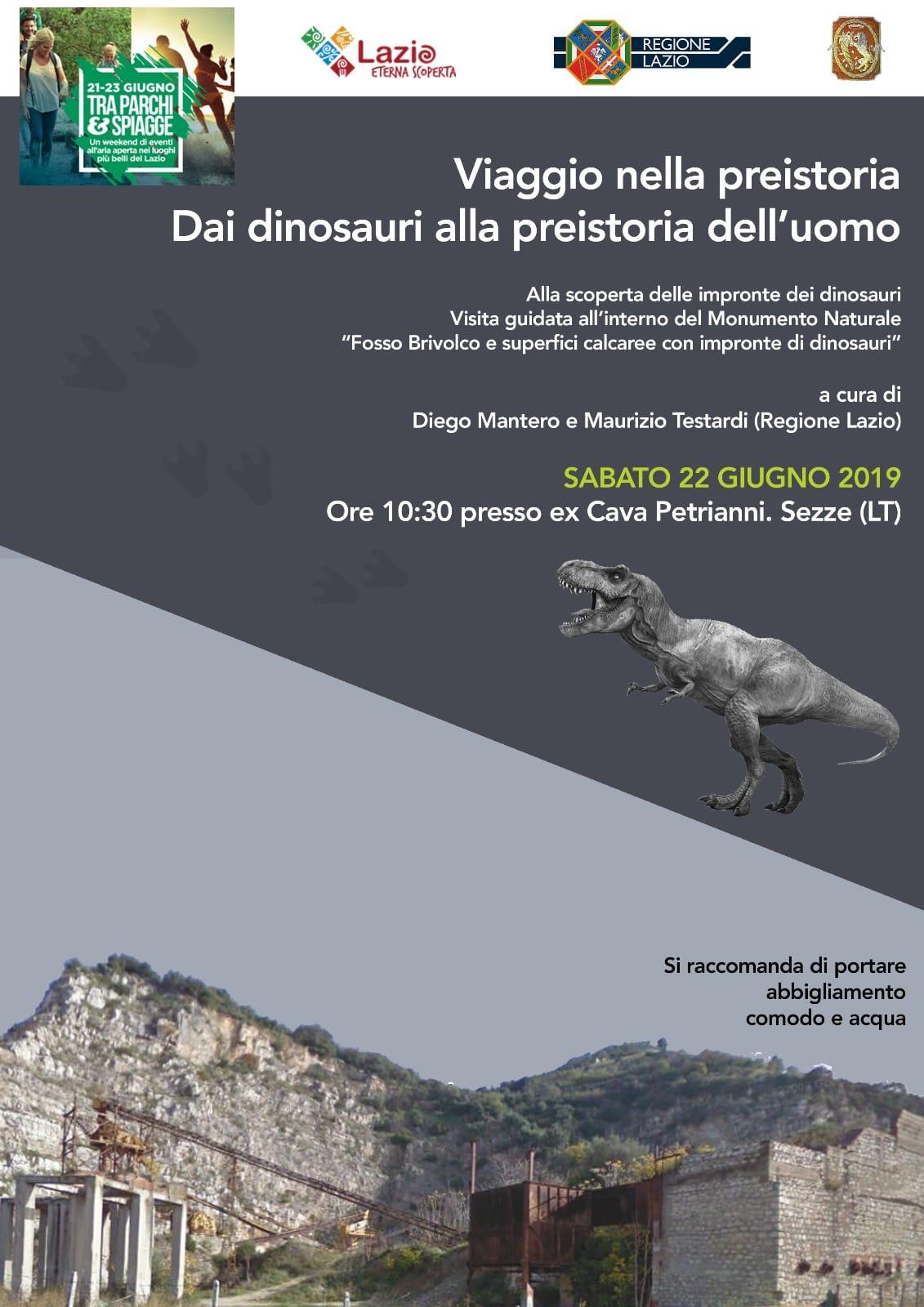 Sezze: Viaggio nella preistoria. Dai dinosauri alla preistoria dell'uomo @ Ex Cava Petrianni | Sezze | Lazio | Italia