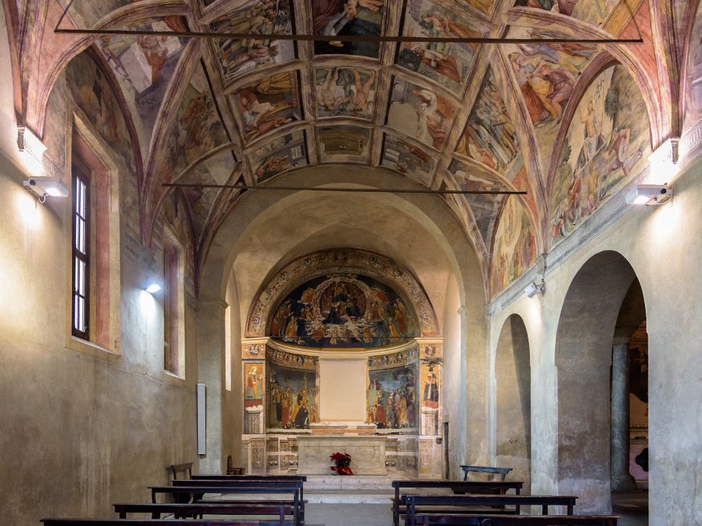 Chiesa Santa Oliva (Interno)