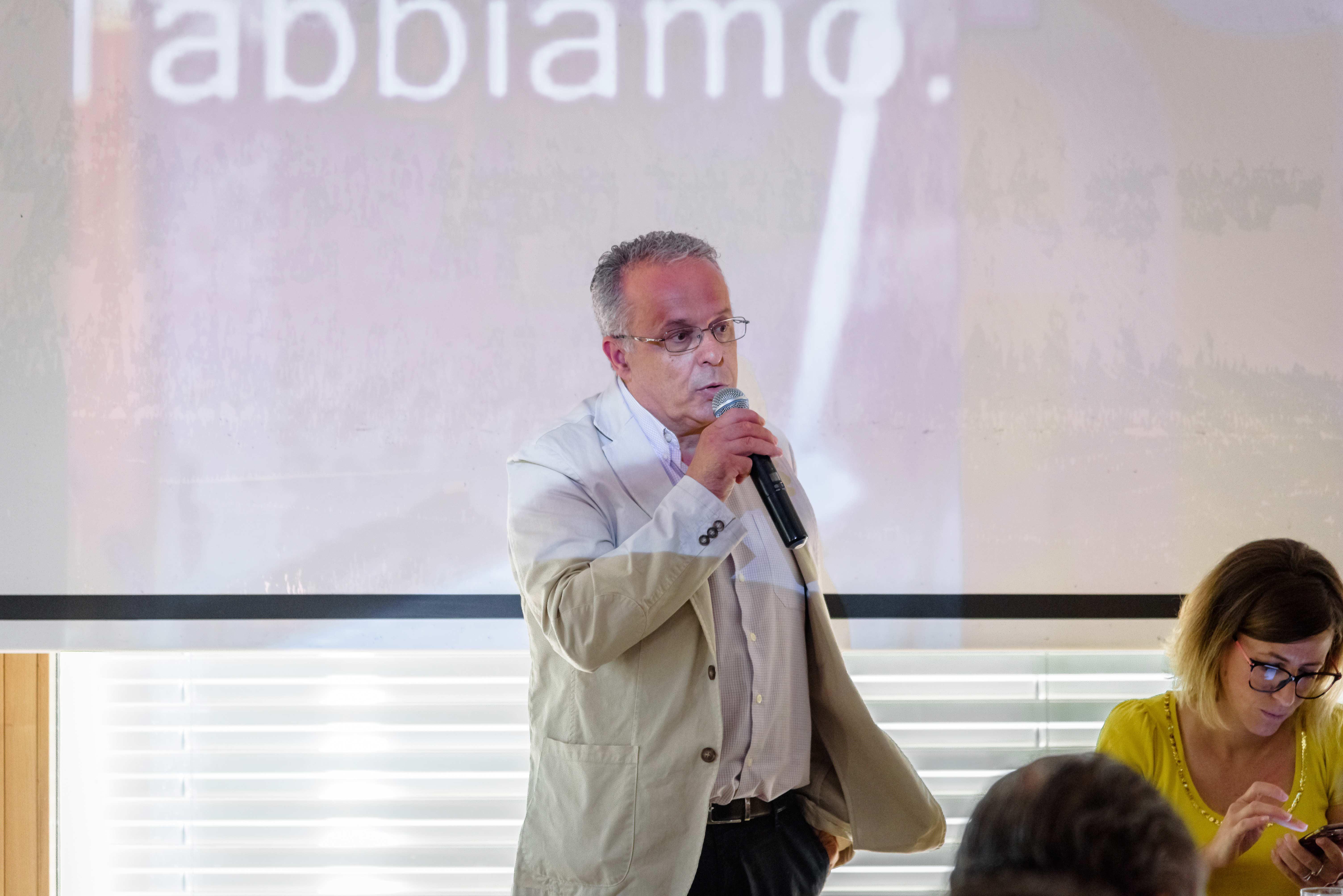 Gianfranco Tessitori - Sindaco di Norma