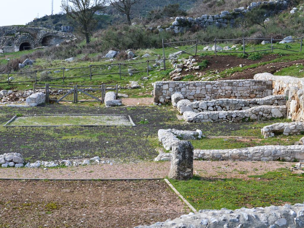 Norba, resti dell'acropoli