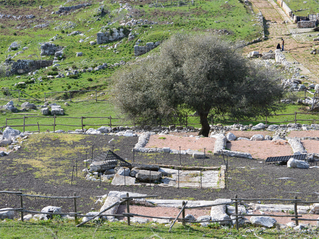 Norba (Norma) veduta dell'antica città