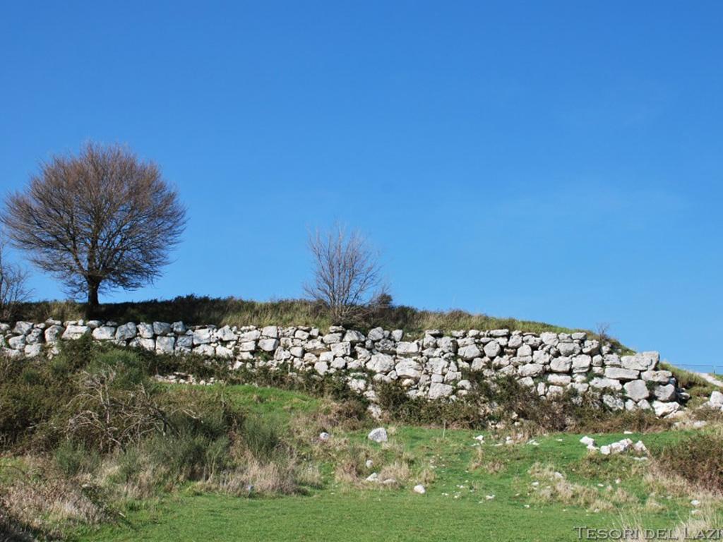 Piana della civita Artena - mura poligonali