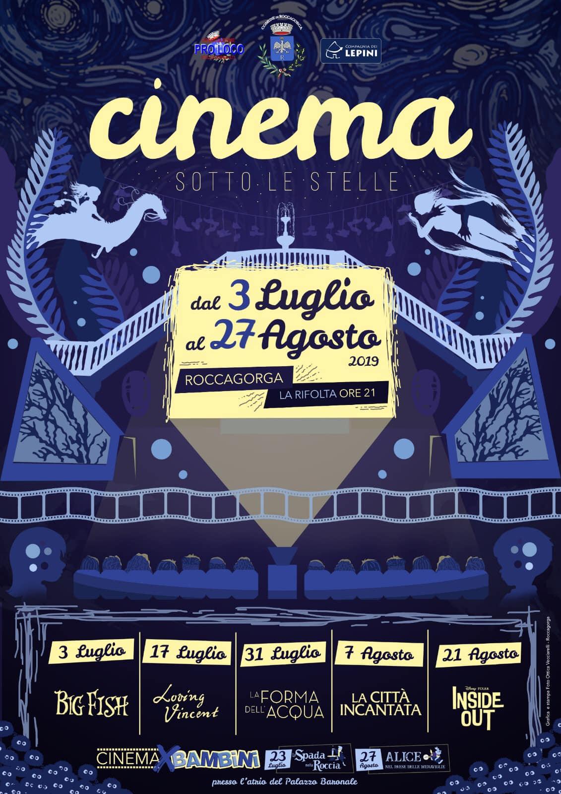 Roccagorga: Cinema sotto le stelle @ La rifolta | Roccagorga | Lazio | Italia