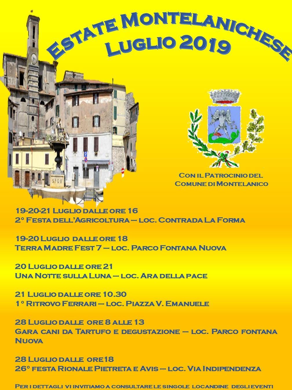 Estate Montelanichese 2019 @ paese | Montelanico | Lazio | Italia