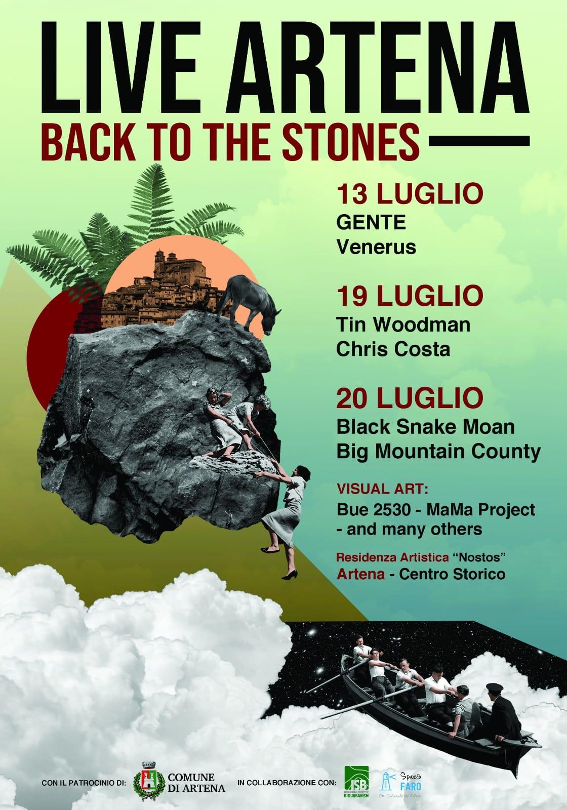 Artena: Live Artena back to the stones @ centro storico | Artena | Lazio | Italia