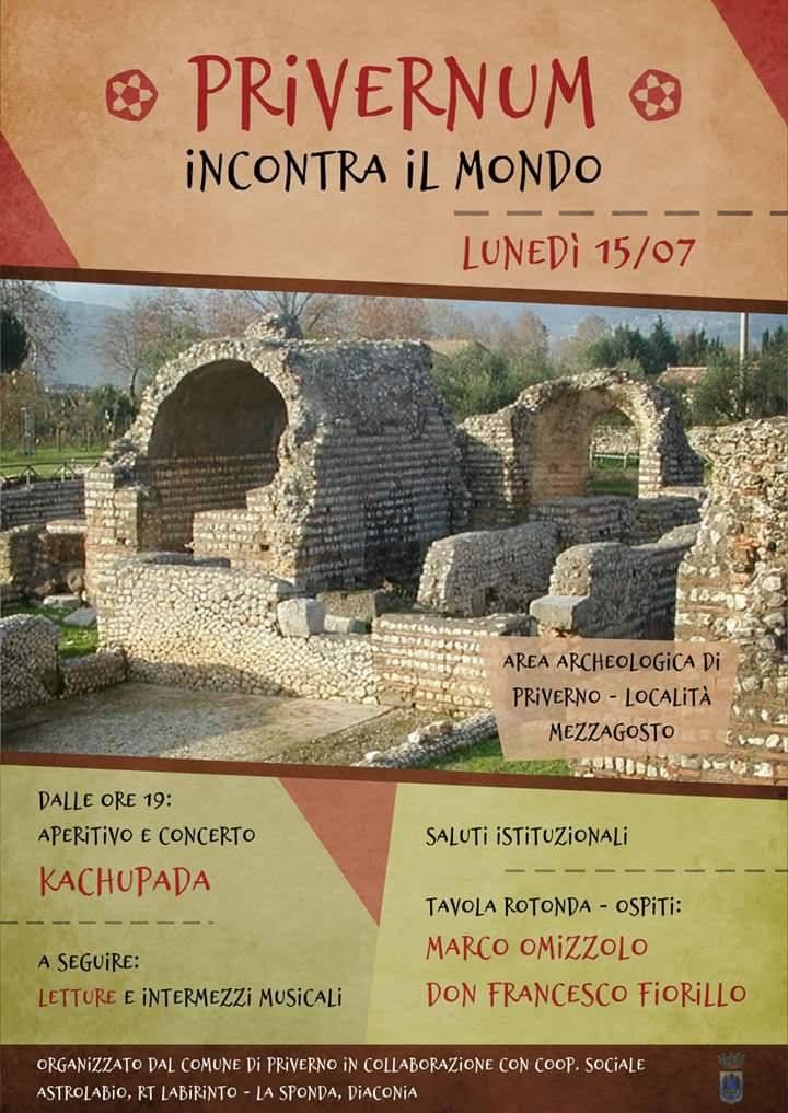 Privernum incontra il mondo @ area archeologica | Priverno | Lazio | Italia