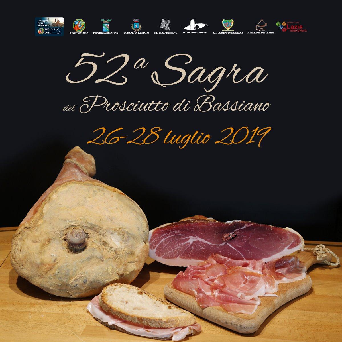 Bassiano: 52° Sagra del prosciutto @ centro storico | Bassiano | Lazio | Italia