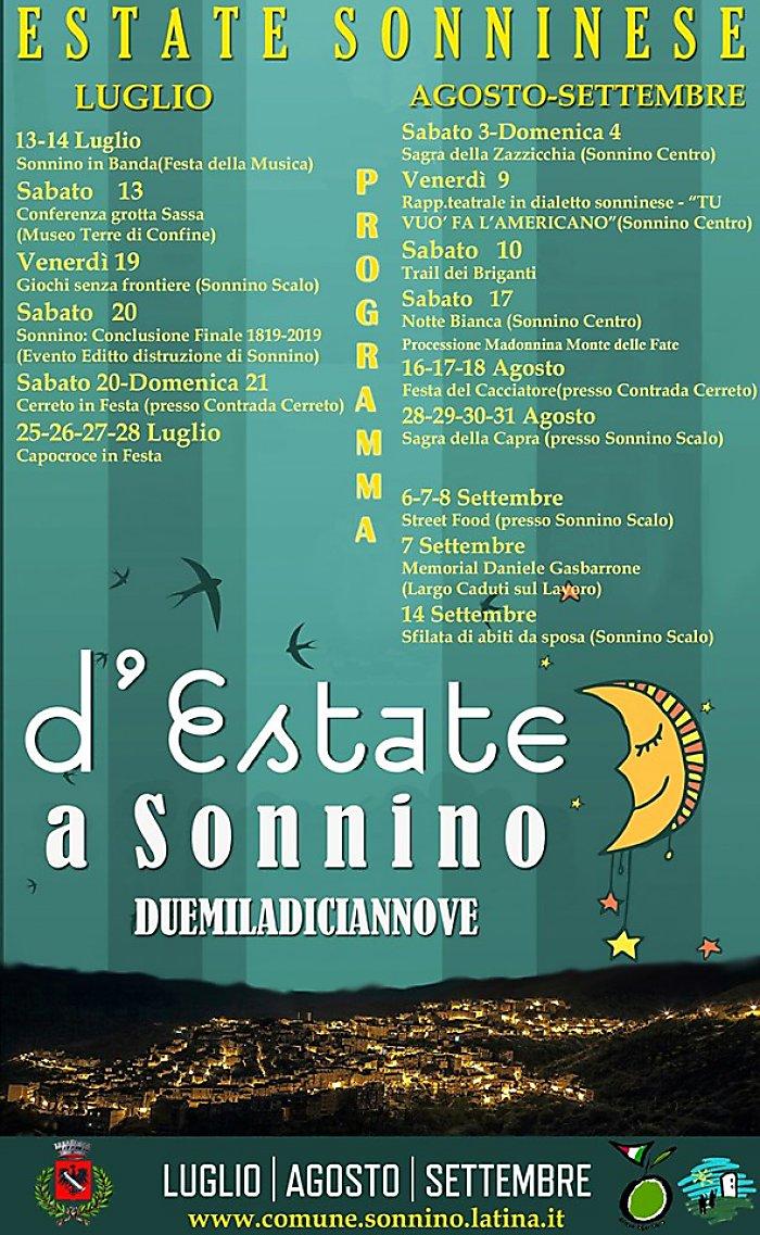 Estate Sonninese @ paese | Sonnino | Lazio | Italia