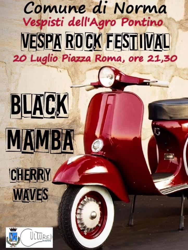 Norma: Vespa rock festival @ Piazza Roma | Norma | Lazio | Italia