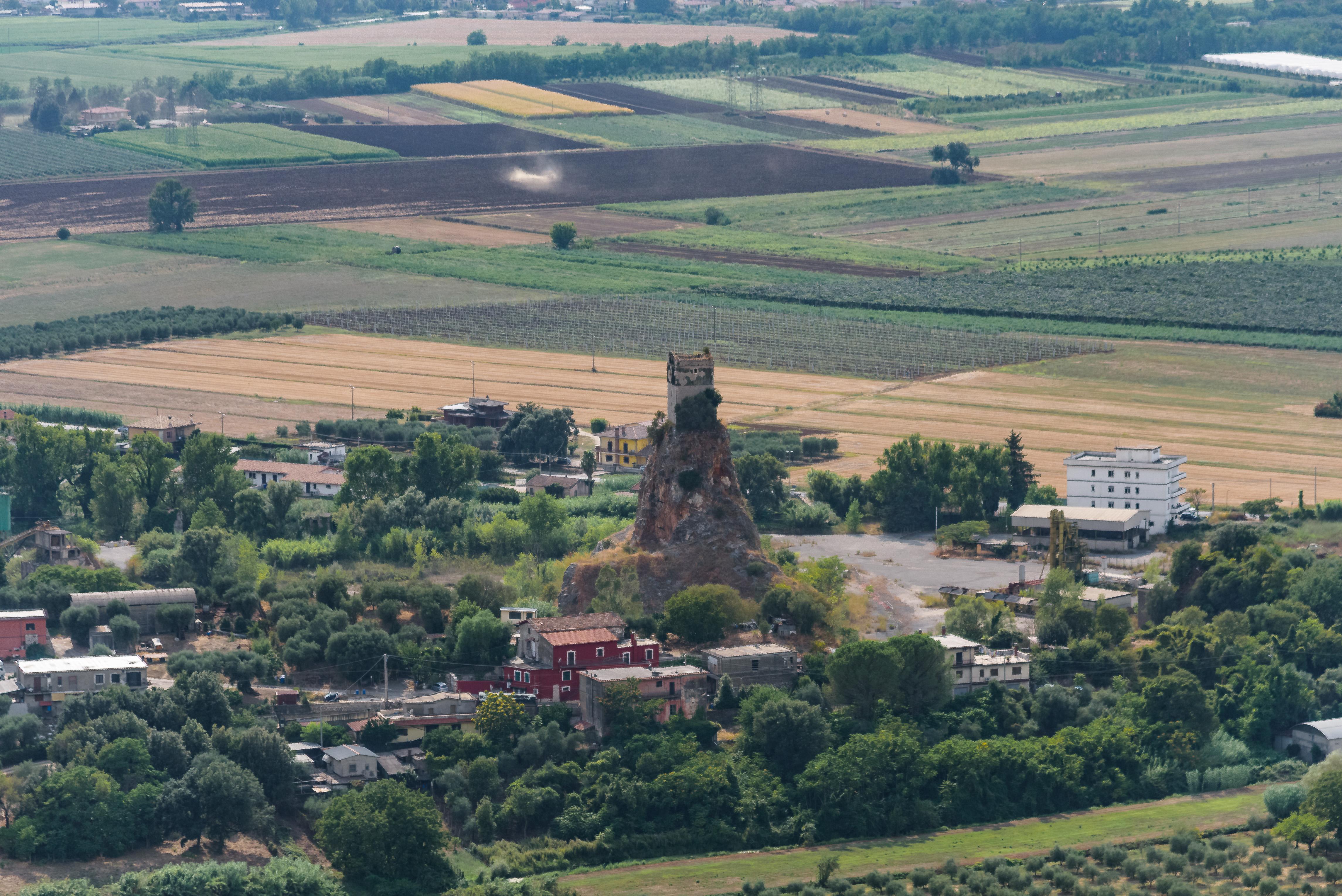 Torre di Monticchio - da Sermoneta