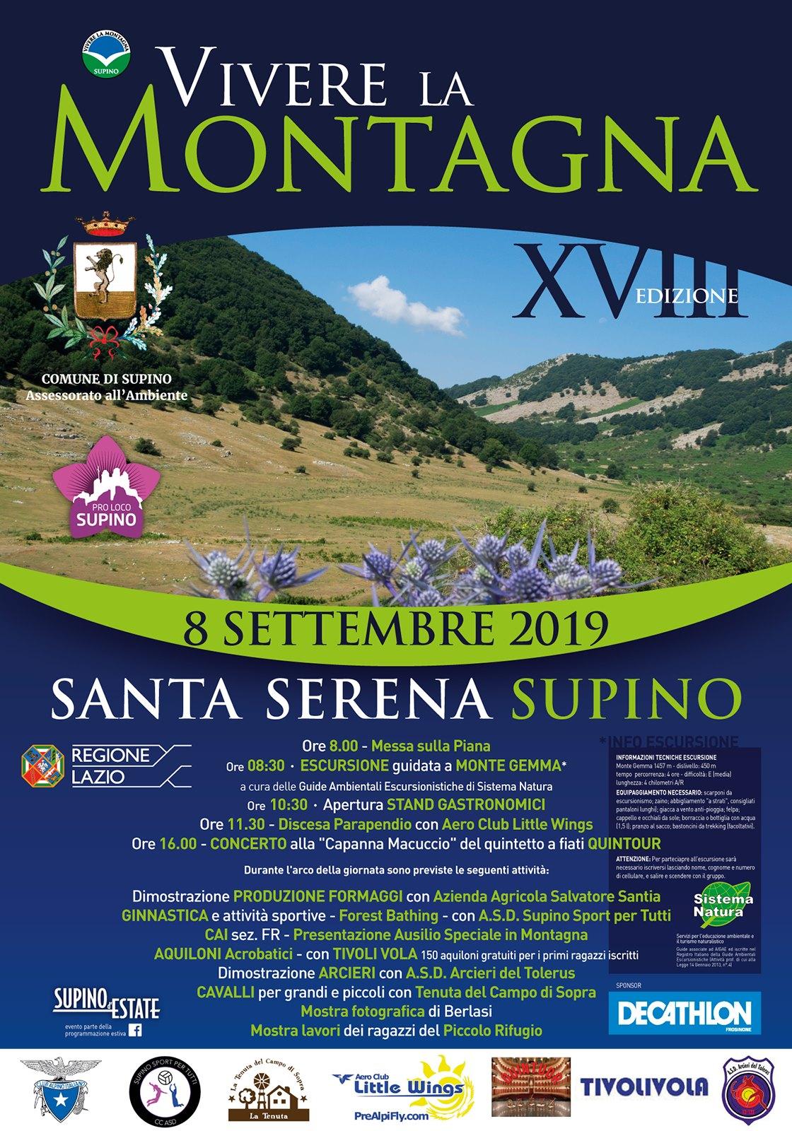 Supino: Vivere la montagna @ piana Santa Serena | Lazio | Italia