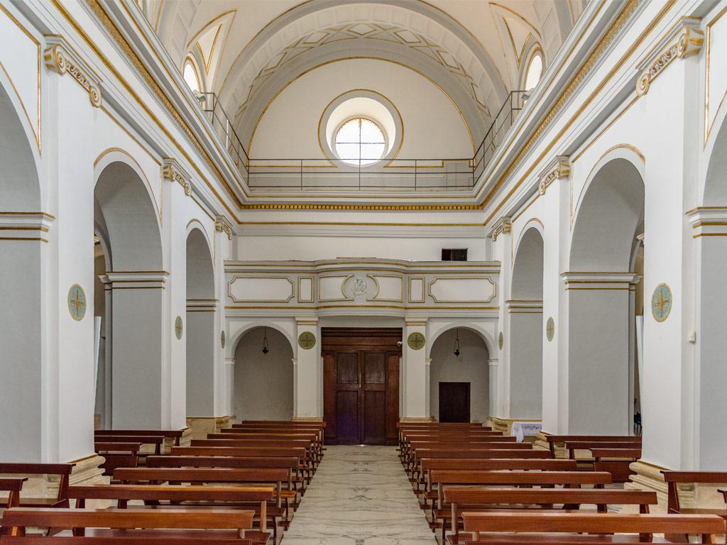 Chiesa di Sant'Erasmo- Navata