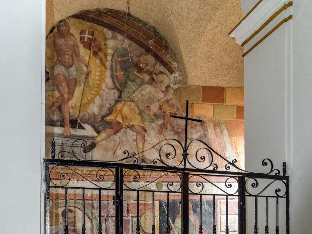 Chiesa di Sant'Erasmo- Interno