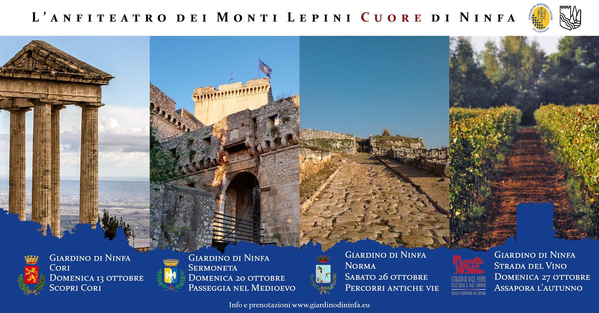 L'Anfiteatro dei Monti Lepini Cuore di Ninfa @ Giardino di Ninfa | Cisterna di Latina | Lazio | Italia