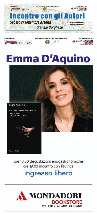 Artena: Incontro con gli autori @ Granaio borghese | Artena | Lazio | Italia