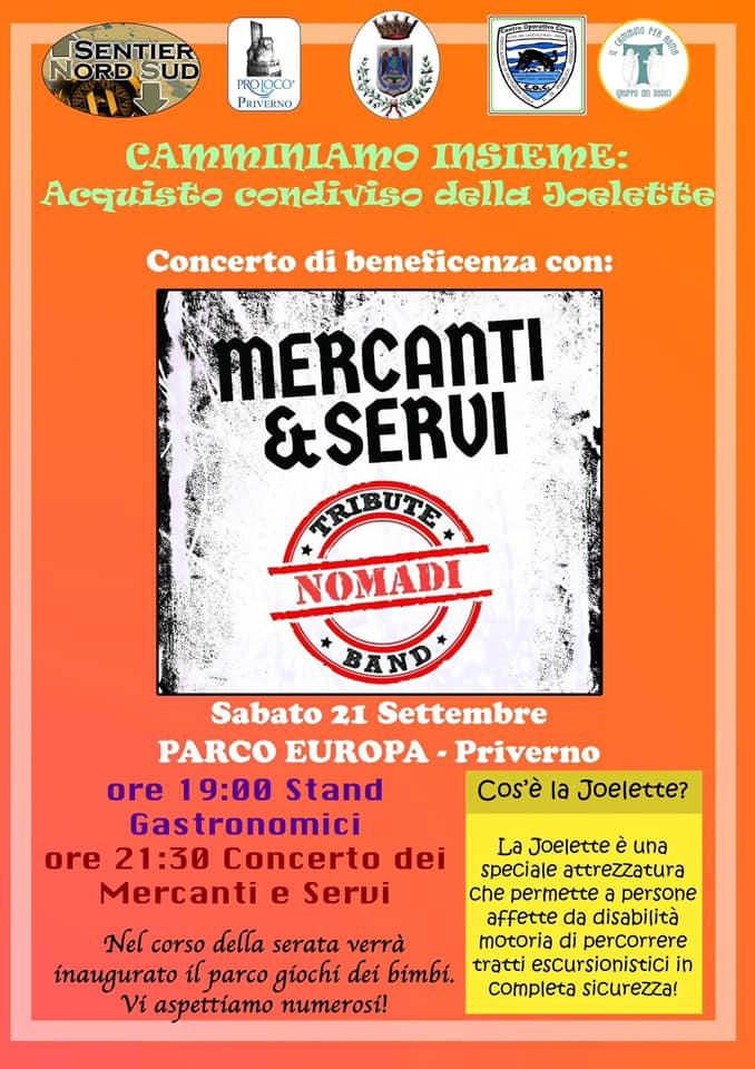 Priverno: CAMMINIAMO INSIEME - ACQUISTO CONDIVISO DELLA JOËLETTE @ Parco Europa | Priverno | Lazio | Italia
