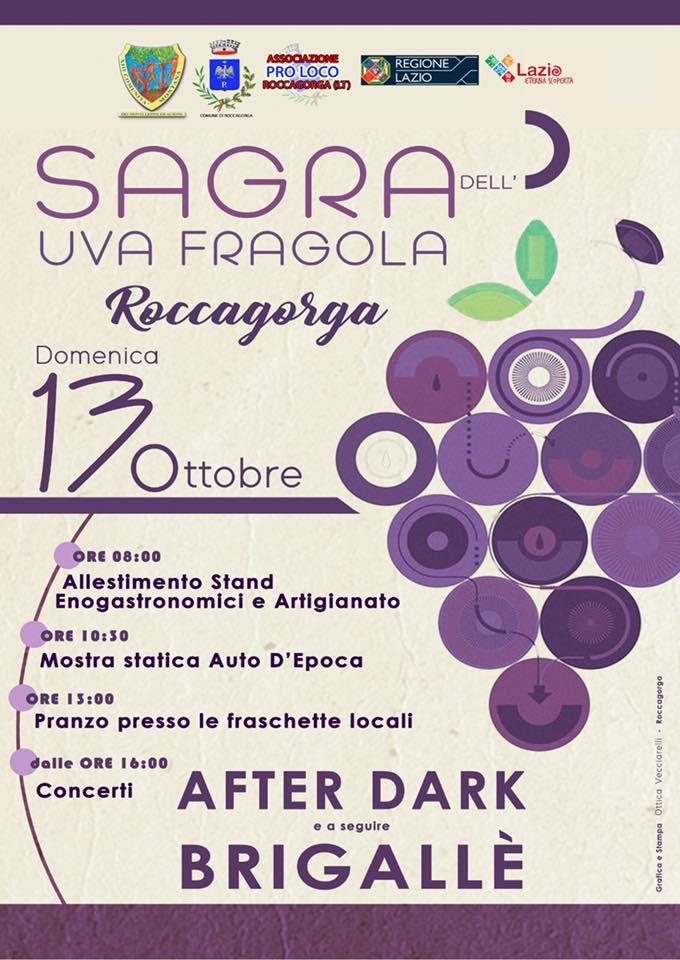 Roccagorga: Sagra dell'uva fragola @ centro storico | Roccagorga | Lazio | Italia