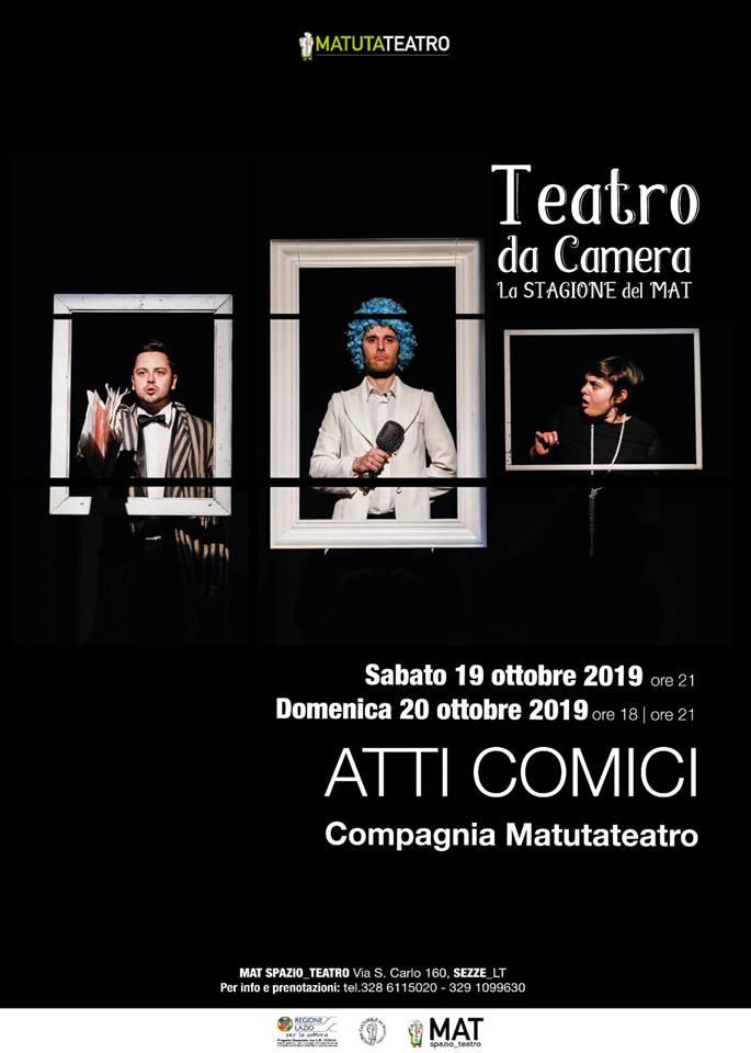 Sezze: Atti Comici @ MAT SPAZIO TEATRO | Sezze | Lazio | Italia