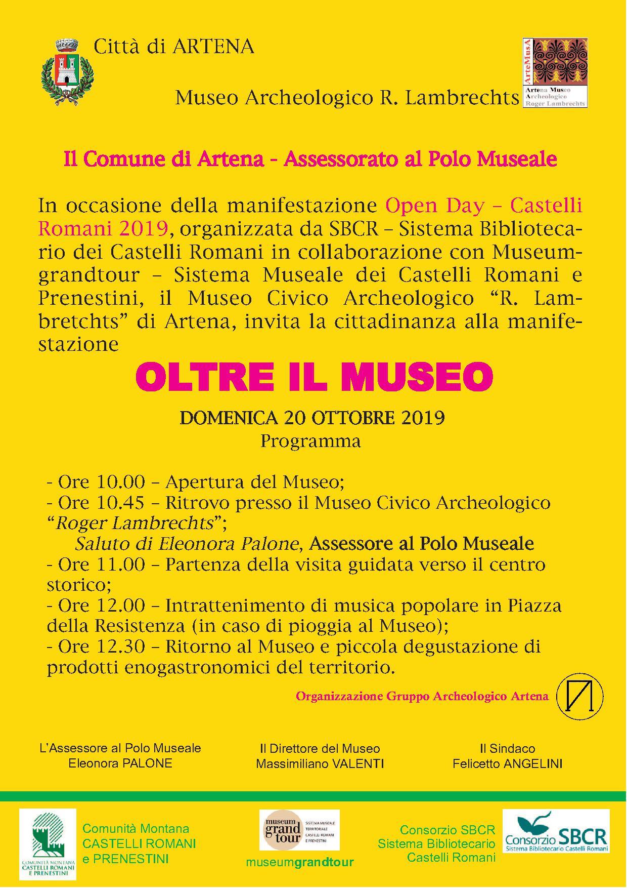 Artena: Oltre il Museo @ Museo archeologico | Artena | Lazio | Italia
