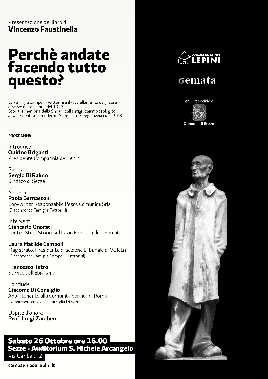 Sezze: Presentazione del libro di Vincenzo Faustinella @ Auditorium san Michele Arcangelo | Sezze | Lazio | Italia