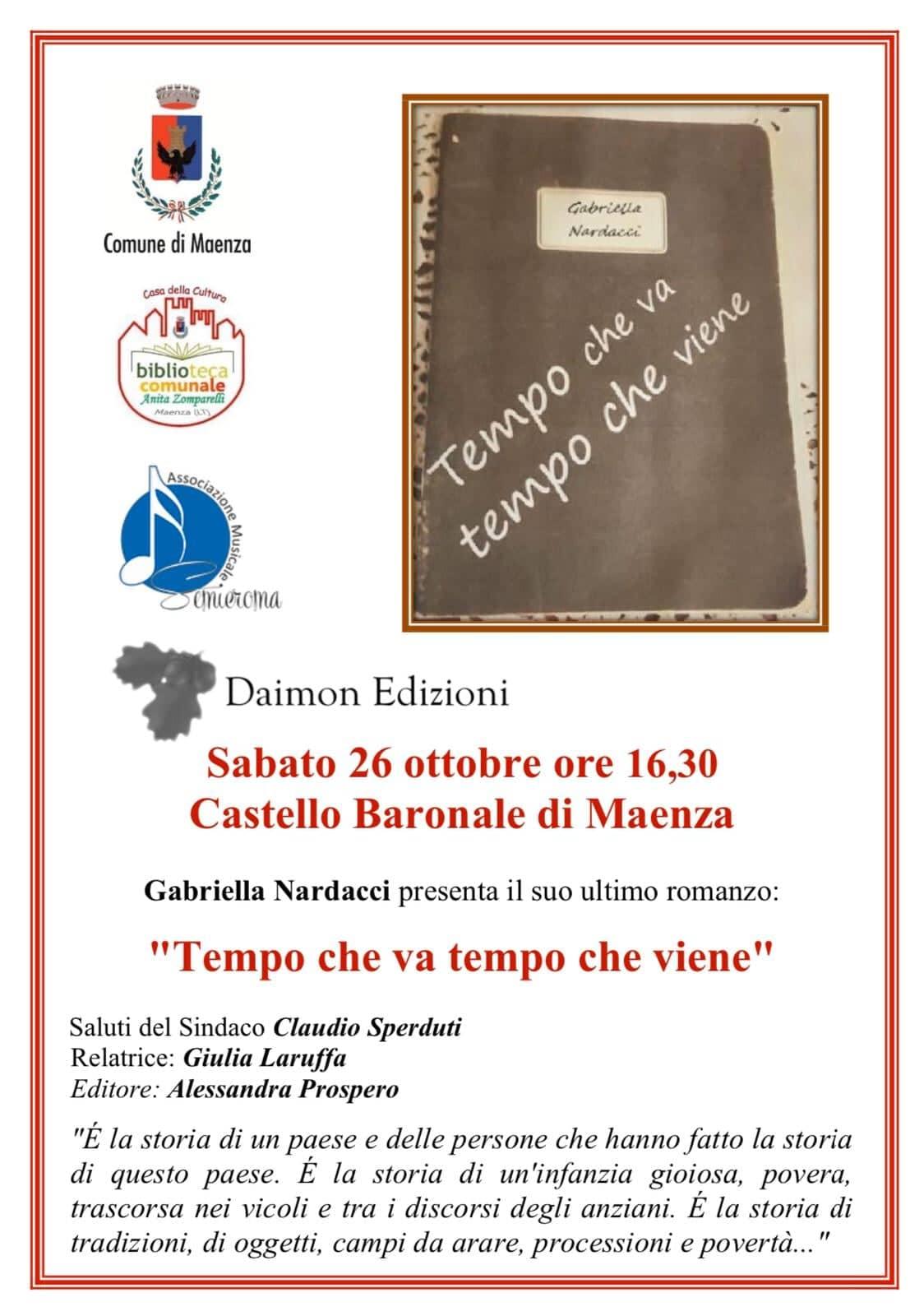Maenza: Presentazione libro @ Castello baronale | Maenza | Lazio | Italia