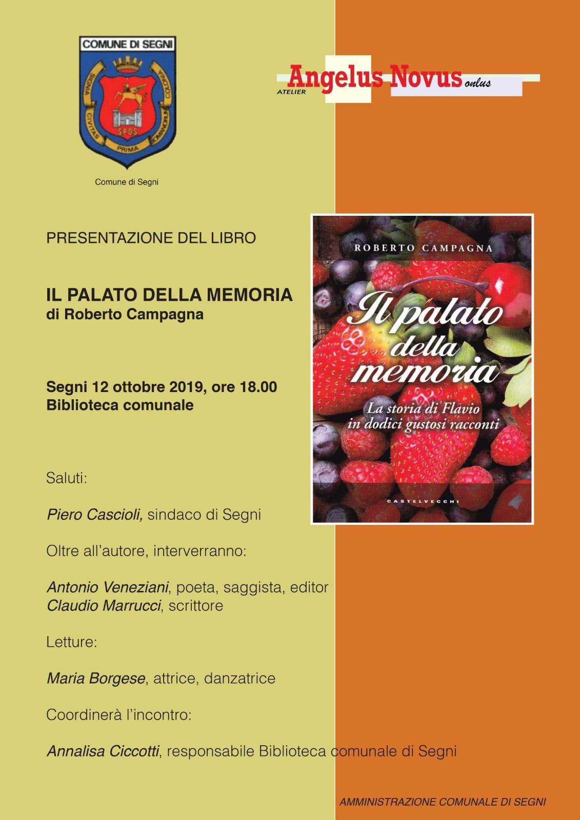 Segni: Presentazione del libro @ biblioteca comunale | Lazio | Italia