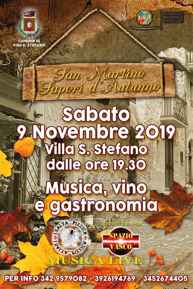 Villa Santo Stefano: San Martino - Sapori d'autunno @ per le vie del paese | Villa Santo Stefano | Lazio | Italia