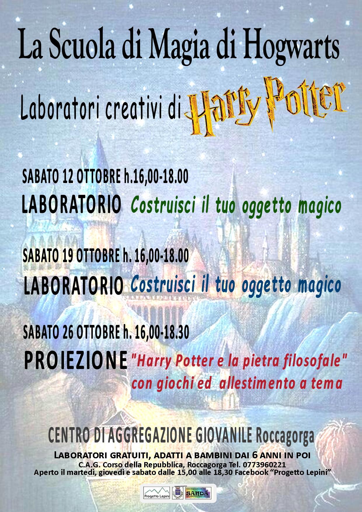 Roccagorga: La scuola di magia di Hogwarts @ centro di aggregazione giovanile | Roccagorga | Lazio | Italia