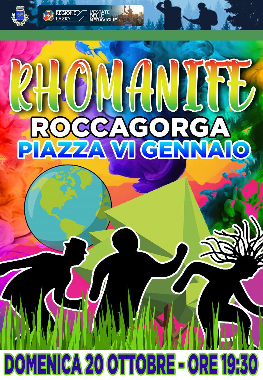 Roccagorga: Rhomanife @ Roccagorga | Lazio | Italia