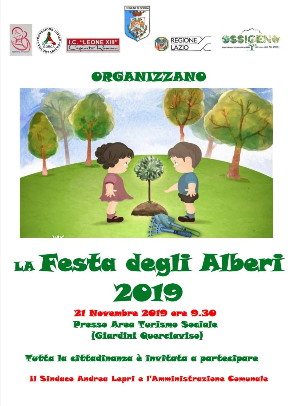 Gorga: Festa degli alberi @ area turismo sociale   Gorga   Lazio   Italia