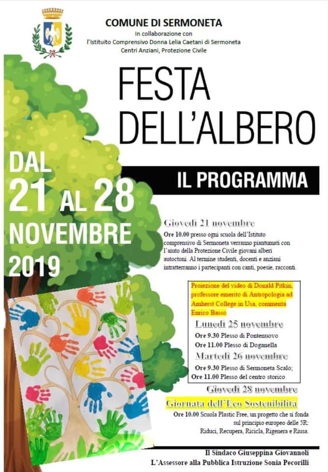 Sermoneta: Festa dell'albero @ centro storico   Sermoneta   Lazio   Italia