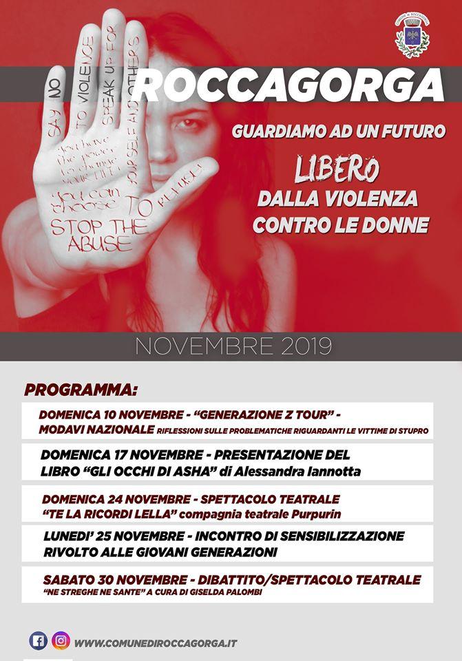 Roccagorga: Guardiamo ad un futuro LIBERO dalla violenza contro le Donne @ Roccagorga | Lazio | Italia