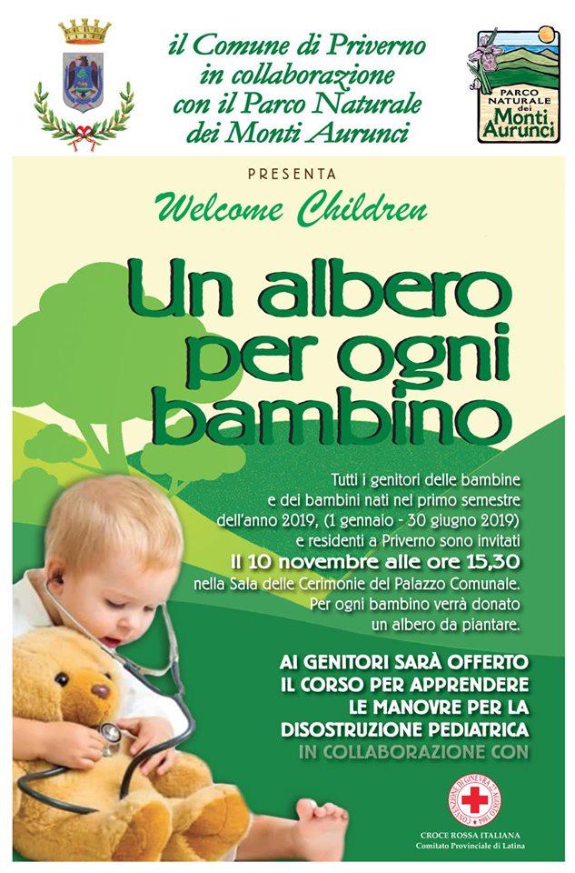 Priverno: Un albero ogni bambino @ Sala delle cerimonie del Palazzo Comunale | Priverno | Lazio | Italia