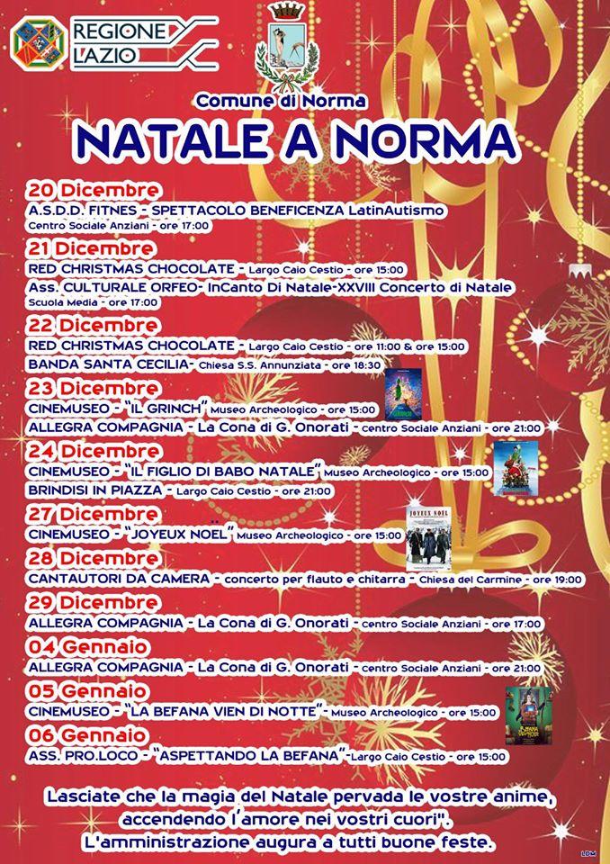 Norma: Natale a Norma @ Norma | Norma | Lazio | Italia