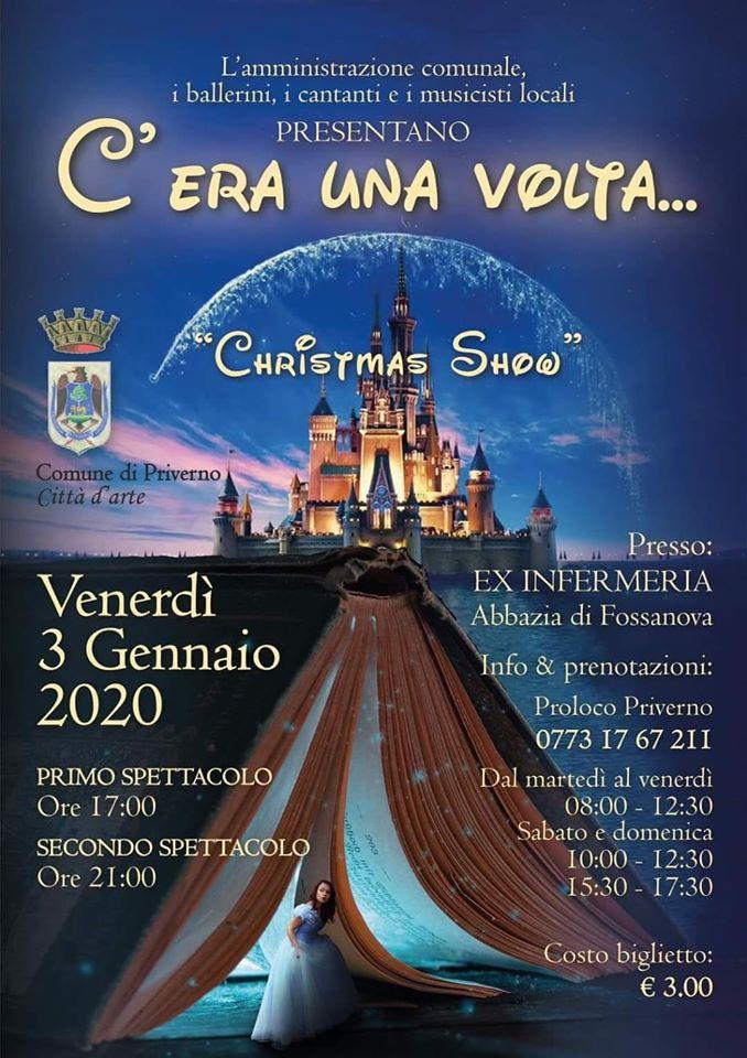 Priverno-Fossanova: Cristhmas show @ Priverno | Priverno | Lazio | Italia