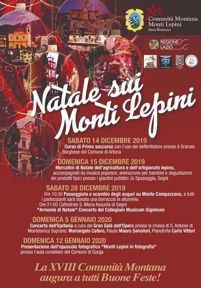 Natale sui Monti Lepini @ Segni, Montelanico, Gorga | Lazio | Italia