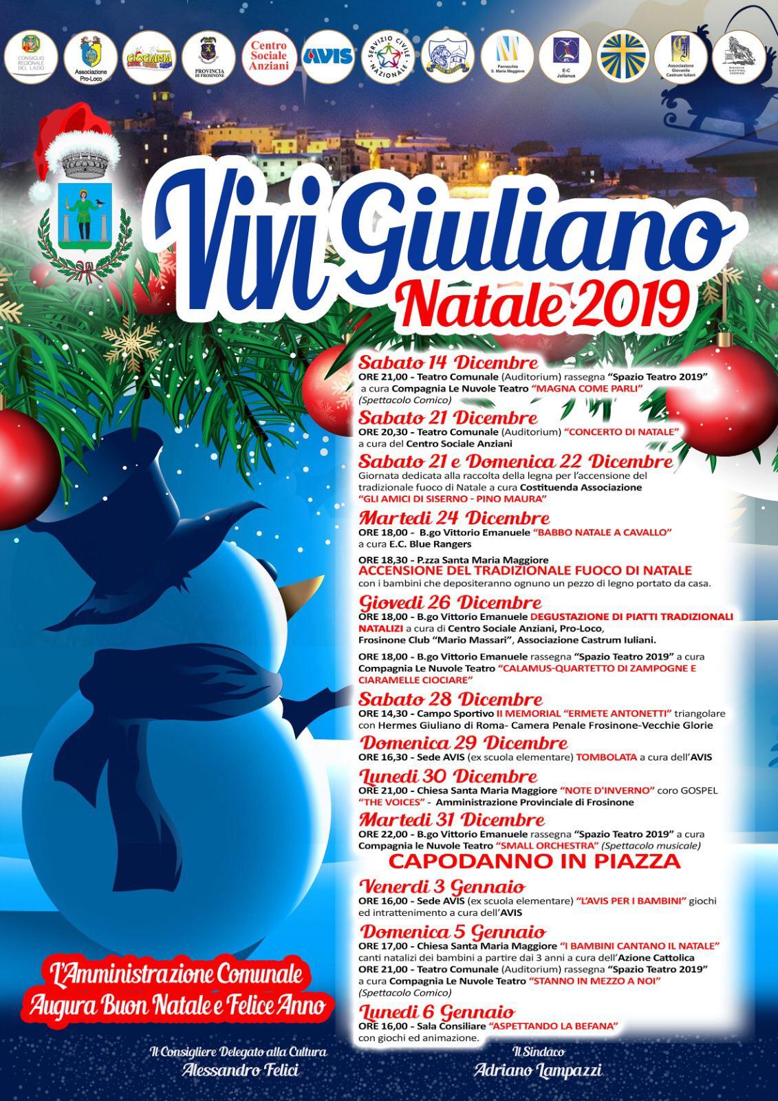 Giuliano di Roma: Vivi Giuliano Natale 2019 @ Giuliano di Roma | Lazio | Italia
