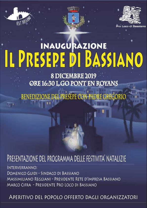 Bassiano: Inaugurazione del presepe @ Largo Pont en Royans | Bassiano | Lazio | Italia