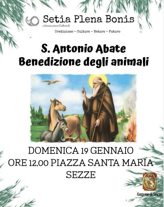Sezze: Benedizione degli animali @ Sezze | Sezze | Lazio | Italia