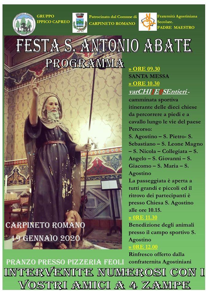 Carpineto Romano: Festa S. Antonio Abate @ Carpineto Romano | Lazio | Italia