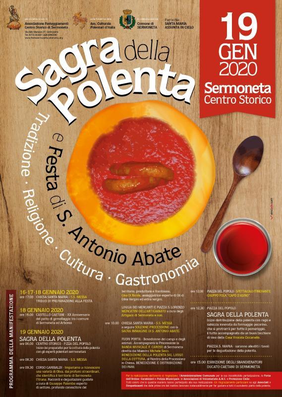 Sermoneta: Sagra della Polenta @ Piazza del Popolo | Sermoneta | Lazio | Italia