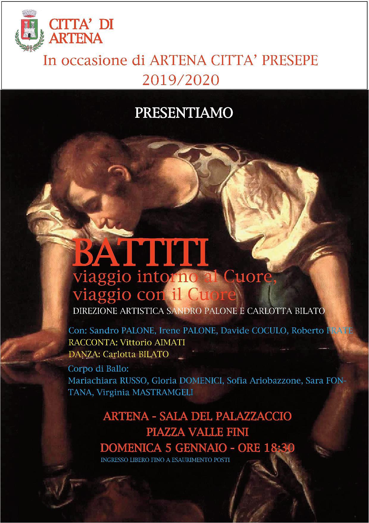 Artena: BATTITI viaggio intorno al Cuore, viaggio con il cuore @ Sala del Palazzaccio piazza Valle Fini | Artena | Lazio | Italia