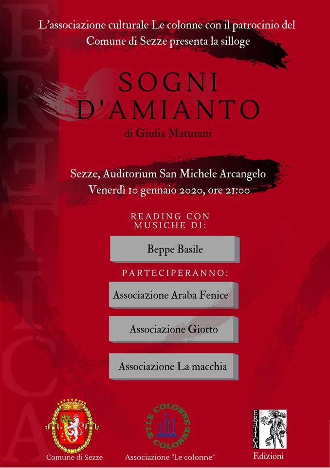 Sezze: SOGNI D'AMIANTO @ Auditorium San Michele Arcangelo | Sezze | Lazio | Italia