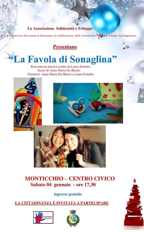 Sermoneta: La favola di Sonaglina @ Monticchio - Centro Civico | Sermoneta | Lazio | Italia