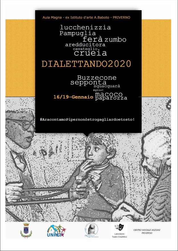 Priverno: il dialetto come lingua delle emozioni @ Aula Magna dell'ex istituto d'arte A.Baboto | Priverno | Lazio | Italia
