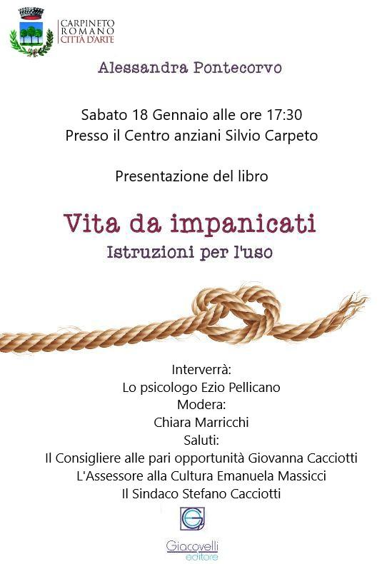 Carpineto Romano: Vita da impanicati @ Centro anziani Silvio Carpeto | Carpineto Romano | Lazio | Italia
