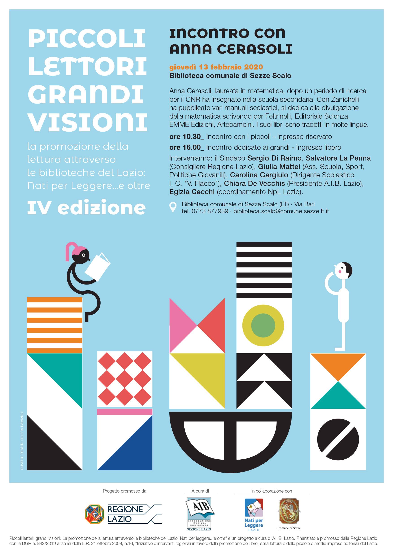 Sezze Scalo: Piccoli lettori Grandi Visioni @ Biblioteca comunale di Sezze Scalo | Sezze Scalo | Lazio | Italia