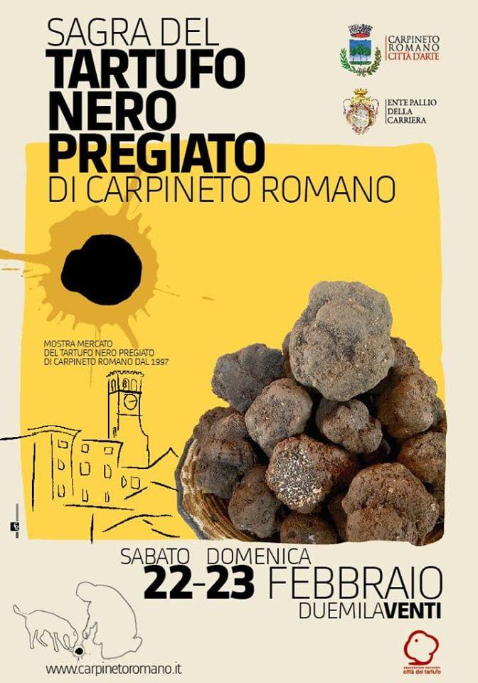 Carpineto Romano: Sagra del tartufo nero pregiato @ Carpineto Romano | Carpineto Romano | Lazio | Italia