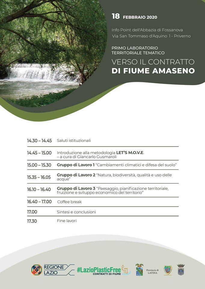 VERSO IL CONTRATTO DI FIUME AMASENO @ Info Point Abbazia di Fossanova | Priverno | Lazio | Italia