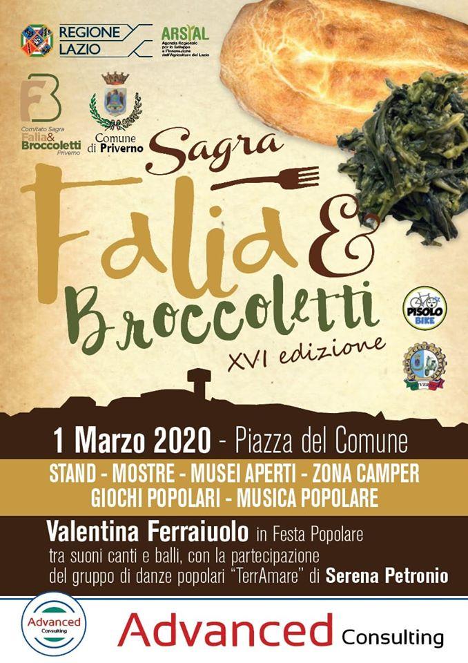 Priverno: Sagra Falia & Broccoletti @ Priverno | Priverno | Lazio | Italia